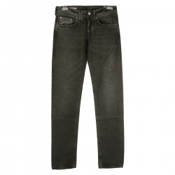 SKINNY FIT GREEN JEANS