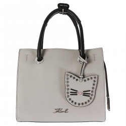 BAG IN MUD COLOR LEATHER MODEL KARRY ALL MINI