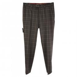 ROMA TARTAN GREY PANTS