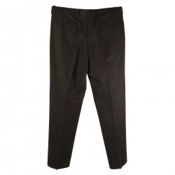 DARK GREY VIRGIN WOOL PANTS