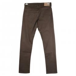 GABARDINA STRETCH BROWN PANTS