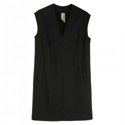 OLGA SLEEVELESS BLACK DRESS