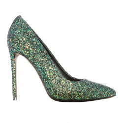 DECOLLETE GLITTER DREAM GREEN
