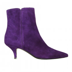 PURPLE ANKLE BOOTS OXFORD MODEL