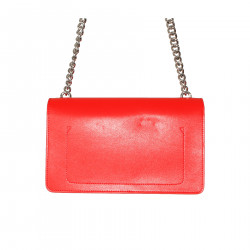 BORSA A TRACOLLA ROSSA BELIEVE IN YOURSELF