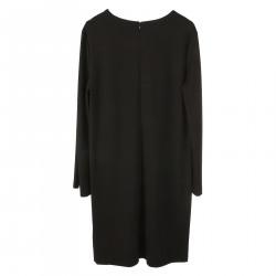 BLACK DRESS WITH PAILLETTES
