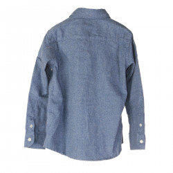 LIGHT BLUE SHIRT WITH FRONTAL POCKET