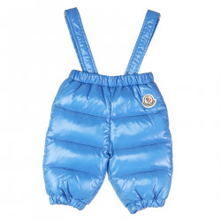 BLUE SKI TROUSERS WITH BRACES