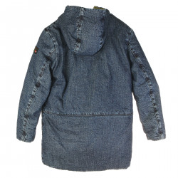 GIUBBINO IN DENIM REVERSIBILE