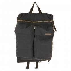 BLUE MULTIPOCKETS BACKPACK