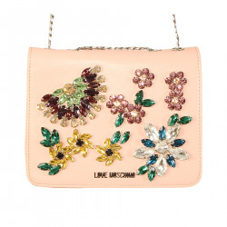 PINK BAG WITH STONES