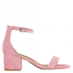 SUEDE ROSE SANDAL