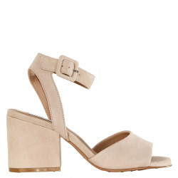 COTTON SANDAL IN SUEDE