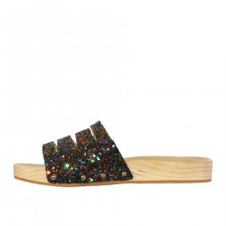 GLITTER MULTICOLOR SLIPPERS