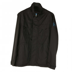 BLACK RAINPROOF JACKET