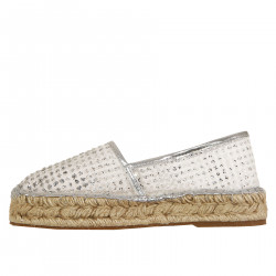 TRANSPARENT FLORAL ESPADRILLAS