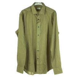GREEN SLIM SHIRT