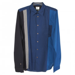 CAMICIA BLU TAILORED FIT