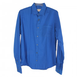 BLUE SHIRT WITH POCKET