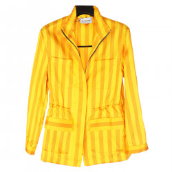 YELLOW JACKET WITH LINES
