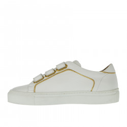 WHITE SNEAKER WITH STRAP