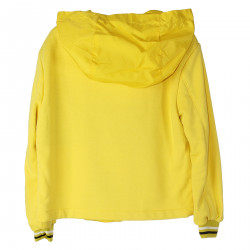 YELLOW JACKET WITH HOOD