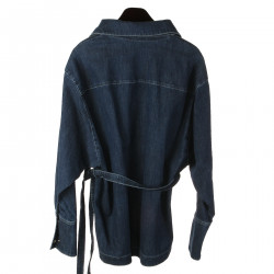 GIACCA BLU IN JEANS