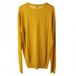 YELLOW COTTON PULLOVER