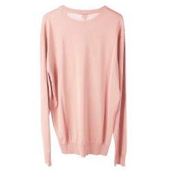 PINK COTTON PULLOVER