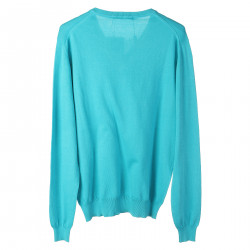 PULLOVER TURCHESE
