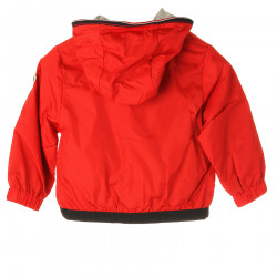 RED JACKET WITH HOOD