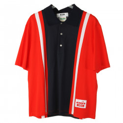 RED AND BLUE POLO
