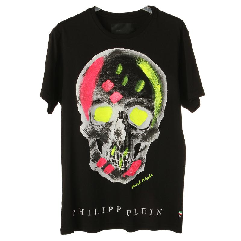Trovaprezzinuovo Philipp Nera Uomo Con Plein Teschio Shirt T XkuPiZ
