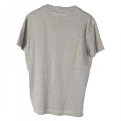 GRAY T SHIRT WITH STUDS