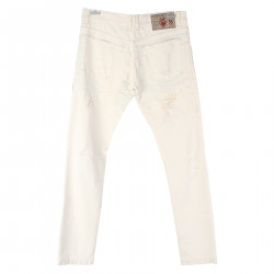 TROUSERS WHITE CREAM