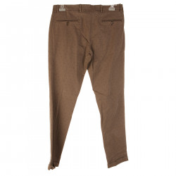 BROWN TROUSERS WITH FANTASY