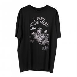 LIVING NIGHTMARE BLACK T SHIRT