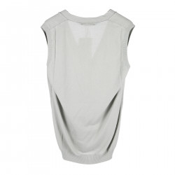 GREY COTTON VEST