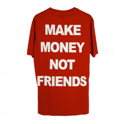 ed60c3a418d6 ... RED T SHIRT WITH PRINTED LOGO