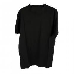 BLACK T SHIRT WITH COAT