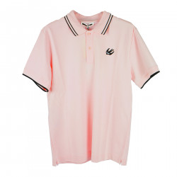 PINK POLO WITH COAT