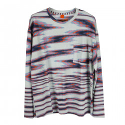 MULTICOLOR SWEATER WITH POCKET