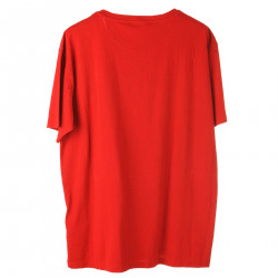 RED PRINTED T SHIRT