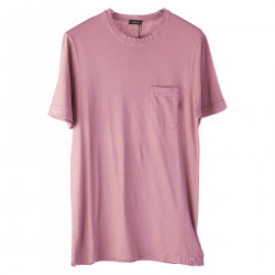 PINK T SHIRT WITH POCKET