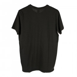 BLACK T SHIRT WITH INTERNAL POCKET