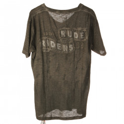 GRAY SMOKY T SHIRT