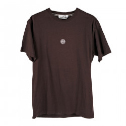 BACK PRINTED BORDEAUX T SHIRT