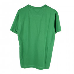 GREEN T SHIRT WITH FRONTAL WRITTEN