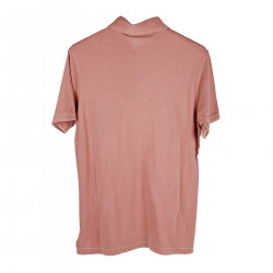 PINK POLO WITH POCKET