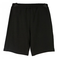 BLACK SHORTS WITH WHITE BORDERS
